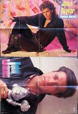 Pop Rocky Poster Manifesto – JOHN JAMES – JOHN TAYLOR Duran Duran – 57 x 41 cm