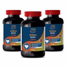Immune Support Airborn Softgels - Omega 8060 3000mg - Omega 3 Mix 3B
