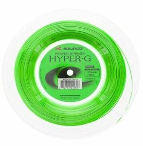 (0,62€/m) Solinco Hyper-G 1,25 mm 200 m Tennissaiten Tennis Strings