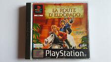 LA ROUTE D' ELDORADO pour l'Or et la Gloire / jeu Playstation 1 - PS one / PAL