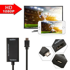 Mini Micro USB 2.0 MHL to HDMI Cable HD 1080P for Android Smartphones AC1387