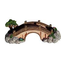 Small Foot Bridge with Landscape Aquarium Fish Tank Ornament Decor