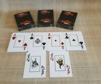 888.com 'Get Noticed' Plastic Playing Cards x3. Poker/Casino Games/Card Games.