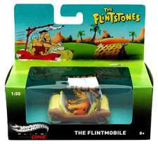 Hot Wheels Elite One 1 50 Flintstones Vehicle With Figures The Flintmobile BCJ83