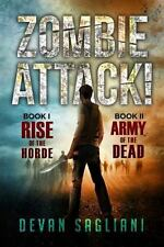 Zombie Attack! 1 and 2: Rise of the Horde / Army of the Dead-ExLibrary