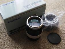 Voigtlander APO-Lanthar 125mm f/2.5 SL Macro Canon EF Mount - Exc Condition