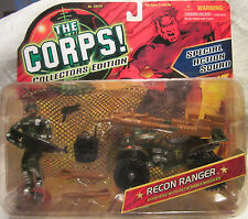 The CORPS Special Action Squad RECON RANGER w/Detachable Missiles Lanard MOC