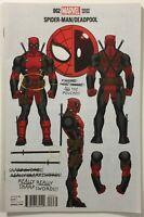 Spider-Man Deadpool 2 Ed McGuinness 1:10 Incentive Variant Edition Marvel Comics