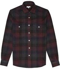 BNWT Reiss 'Bordeaux' Union Checked Overshirt Jacket Size XXL