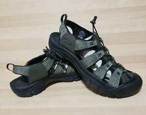 KEEN Newport H2 Mens Size 15 Athletic Sandals Forest Night Hiking Shoes