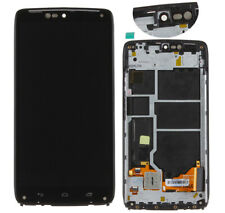 For Motorola Droid Turbo XT1254 LCD Display Touch Screen Digitizer Black Frame