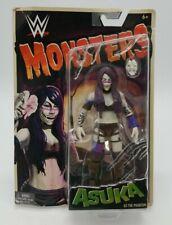 WWE Monsters Series Asuka As The Phantom Wrestling Action Figure - Damaged Card