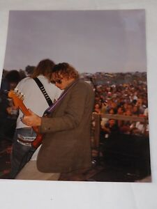 """1989 Laming at the Woodstock festival Color 8"""" X 10"""" Photo"""