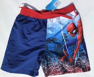 Boys Swim Shorts with Spiderman detail