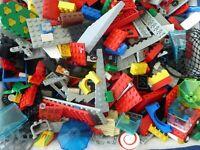 LEGO ++ 200 TEILE SET Konvolut bunte Mischung Platten Räder Basics Fenster Kg