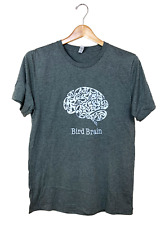 Jcs Wildlife Bird Brain Heather Grey Shirt