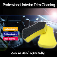 Car Leather Seat Care Detailing Nano Clean Brush Auto Interior Wash Accessories