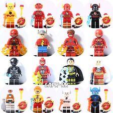 2018 16pcs Set FLASH Comic Super Hero Crimson Comet Marvel Mini Figures fit Lego