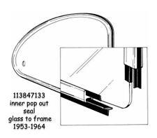 VW Bug Cal Look Window Rubber 4 Piece Kit 1973-1976 Super Beetle