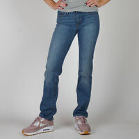 Levi's 314 Shaping Straight blau Damen Jeans Größe DE 38 US W31 L34