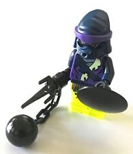 *BRAND NEW* Lego NINJAGO Purple WOOO Minifig with BLACK Weapons