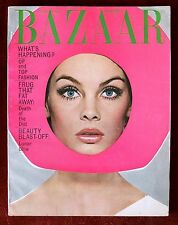 Harper's Bazaar ~ April 1965 ~ Jean Shrimpton by Richard Avedon Paul McCartney