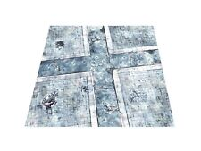 4'x4' Urban Cityscape gaming mat warhammer 40k wh40k imperial guard Space Marine