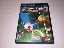 Hot Shots Golf Fore! (Playstation PS2) Black Label Original Complete LN Mint!