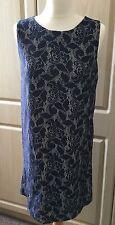 H&M Navy Blue Lace Dress: Size Small