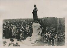 LONDRES c. 1930 - Inauguration Statue de Miss Pankhur Féministe UK - PRM 209