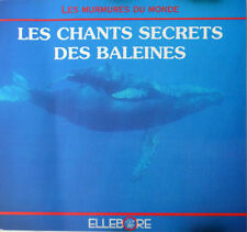 Le Chants Secrets Des Baleines by Christian Gence - CD - Very Good Condition