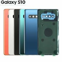 New Samsung Galaxy S10 Glass Battery Back Cover Camera Lens 6 Month Warranty UK