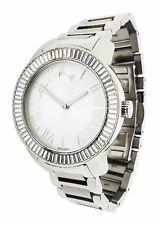 Movado BOLD 3890121 Baguette Crystal Bezel Stainless Steel 39mm Watch