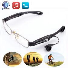Wireless Bluetooth Sun Glasses Headset Handsfree Earphone Polarized Lens w Mic