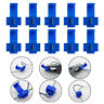 100pcs Blue Scotch Lock Wire Connectors Quick Splice Terminals Crimp Electrical