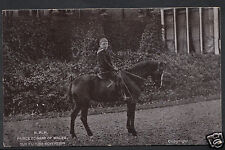 Royalty Postcard - H.R.H Prince Edward of Wales   U297