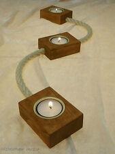 Deko-Kerzenleisten aus Holz fürs