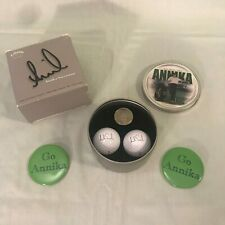 Annika Sorenstam Callaway '59' Commemorative Edition Golf Ball Marker Button Set