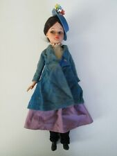 """Vintage Mary Poppins Doll 12"""" Clothing Horsman 1960's Plastic"""
