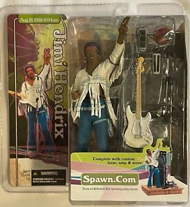 McFarlane Toys 2003 JIMI HENDRIX Live at Woodstock Action Figure Mint Sealed