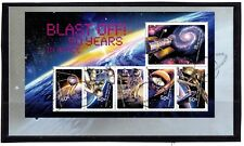 2007 Australia Blast Off 50 Years In Space Mini Sheet First Day Cover, Mint Cond