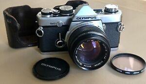 Classic Olympus OM-2N 35mm Film Camera with f /1.4 50mm std. lens - almost MINT
