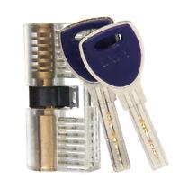 Pad Lock Practice Picking Kit Gleichschließend Schließanlage mit 2 Schlüssel