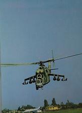 O Saffek  Mil Mi-24 Hind Russian Air Force Postcard