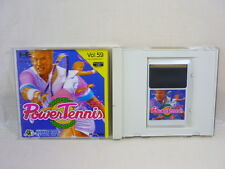 POWER TENNIS PC-Engine Hu PCE Grafx Hudson Japan Game pe
