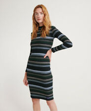 Superdry Womens Stripe Rib Midi Dress