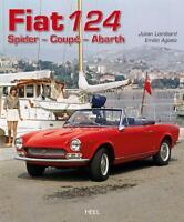 Fiat 124 Spider Coupé Abarth (1400 1600 1800 Sport Pininfarina Europa) Buch book