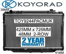 TOYOTA LANDCRUISER HZJ80 HDJ80 FZJ80 FJ80 PETROL & DIESEL MANUAL RADIATOR *KOYO*