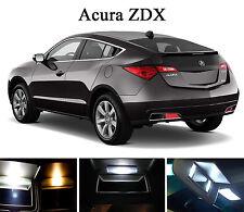Xenon White Vanity / Sun visor  LED light Bulbs for Acura ZDX (4 Pcs)
