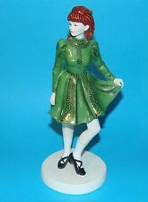 COALPORT figurine ornament  ' Irish Dancer '  1st Quality